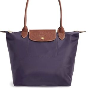 Longchamp Small Purple Bag